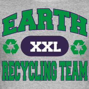 Earth Day Recycle équipe - Tee shirt près du corps Homme