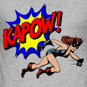 kapow - Slim Fit T-shirt herr