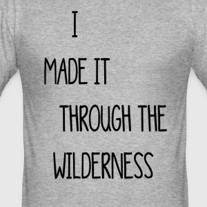 wilderness - Men's Slim Fit T-Shirt