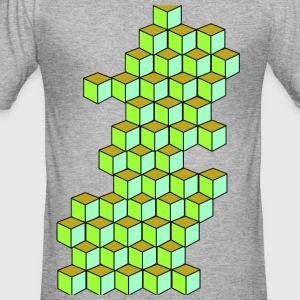Impossible Cube T-Shirt - slim fit T-shirt