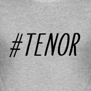 TENOR - Slim Fit T-skjorte for menn