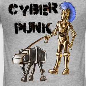 cyberpunk - Men's Slim Fit T-Shirt