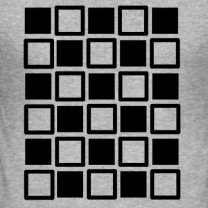 Crazy squares - Männer Slim Fit T-Shirt