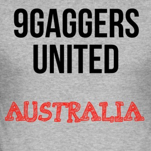 9gagger Australia - Slim Fit T-skjorte for menn