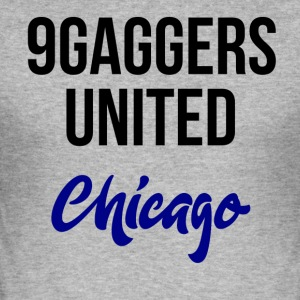 9gagger Chicago - Männer Slim Fit T-Shirt