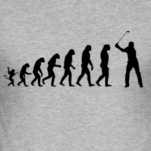 Golf Evolution Tshirt - Men's Slim Fit T-Shirt