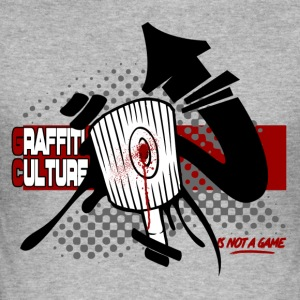 Graffiti Culture (is not a game) - Tee shirt près du corps Homme