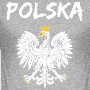 Polska - Slim Fit T-skjorte for menn
