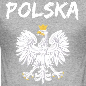 polska - Slim Fit T-shirt herr