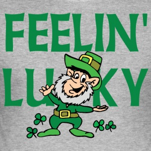 Irish Luck - Men's Slim Fit T-Shirt