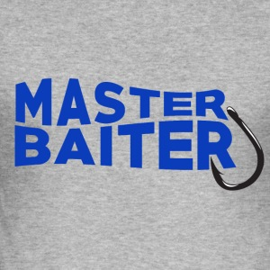 Master Baiter - Fishing - Männer Slim Fit T-Shirt
