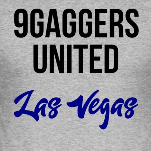 9gagger Las Vegas - Slim Fit T-skjorte for menn