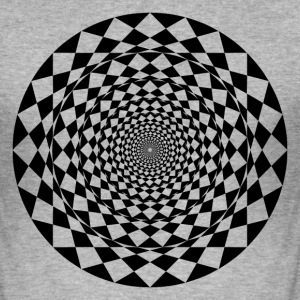 geometrisk kunst - Slim Fit T-skjorte for menn