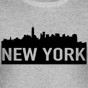 NEW YORK - Slim Fit T-skjorte for menn