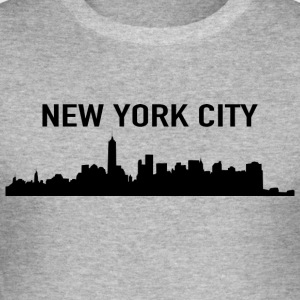 NEW YORK CITY - Slim Fit T-skjorte for menn