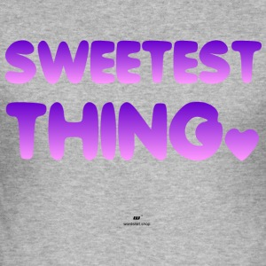 Sweetest Thing - Männer Slim Fit T-Shirt