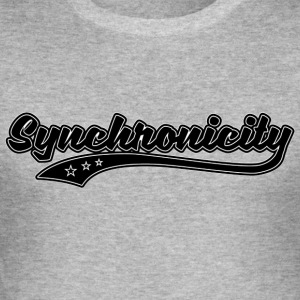 Synchronicity - Men's Slim Fit T-Shirt