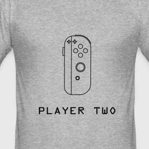 ¿Ready PLayer två? - Slim Fit T-shirt herr
