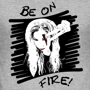 Fire - Men's Slim Fit T-Shirt