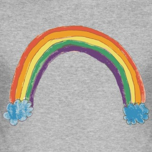 Rainbows against Hate - Men's Slim Fit T-Shirt