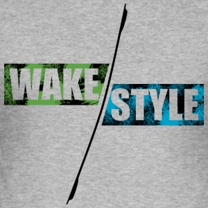 stained wakestyle - Slim Fit T-shirt herr