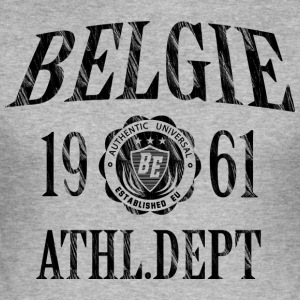 Belgien - Herre Slim Fit T-Shirt