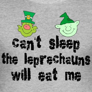 Funny Irish Leprechauns - Men's Slim Fit T-Shirt