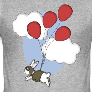 Bunny aviator - Slim Fit T-skjorte for menn