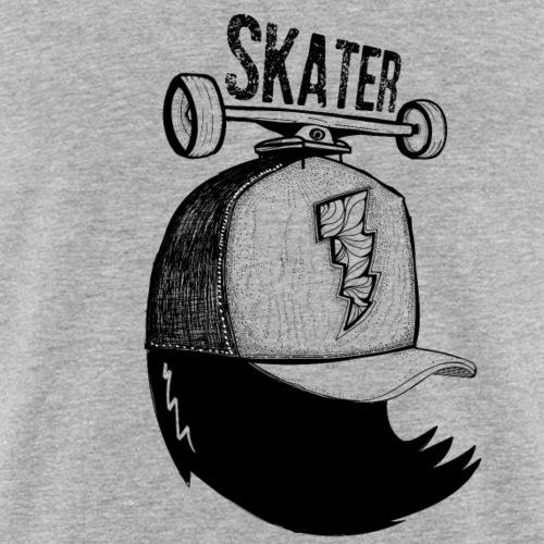 skater - T-shirt près du corps Homme
