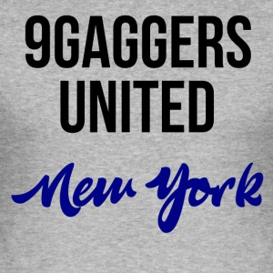 9gagger New York - Männer Slim Fit T-Shirt