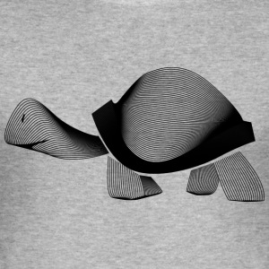 turtle - Men's Slim Fit T-Shirt