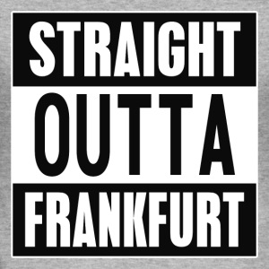 Straight outta Frankfurt - Slim Fit T-skjorte for menn