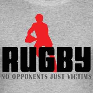 Rugby No Opponents Just Victims - Men's Slim Fit T-Shirt