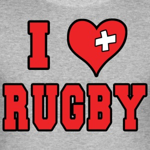 I Love Rugby Football - Men's Slim Fit T-Shirt