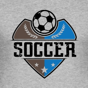 Soccer - Soccer - Men's Slim Fit T-Shirt