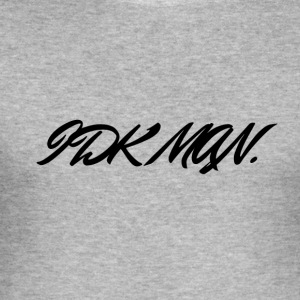 IDK_MAN - Men's Slim Fit T-Shirt
