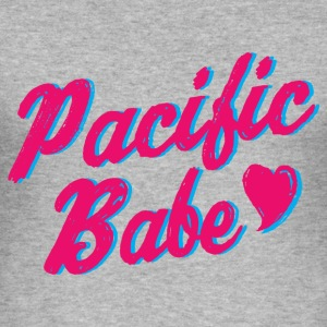 Pacific Babe - Slim Fit T-shirt herr