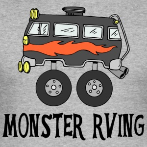Monster Rving - Männer Slim Fit T-Shirt