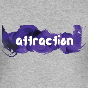 attraction attraction - Tee shirt près du corps Homme