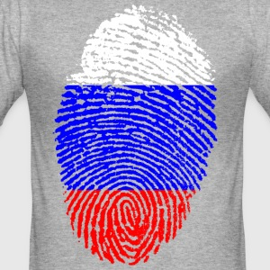 RUSSIA 4 EVER COLLECTION - Men's Slim Fit T-Shirt