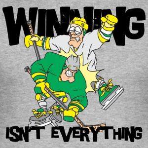 Hockey Winning is'nt Everything - Herre Slim Fit T-Shirt