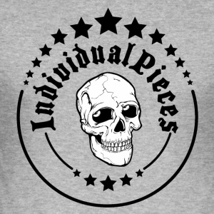 IndividualPiecesScull - Tee shirt près du corps Homme
