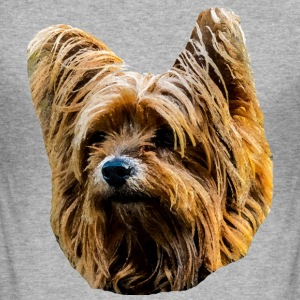 Yorkshire-Terrier - Männer Slim Fit T-Shirt