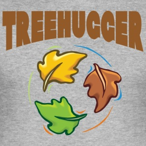 Earth Day TreeHugger - slim fit T-shirt