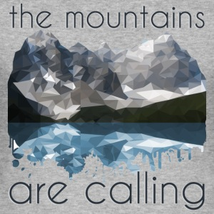 the mountains are calling - Männer Slim Fit T-Shirt