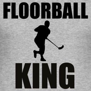 Floorball - Men's Slim Fit T-Shirt