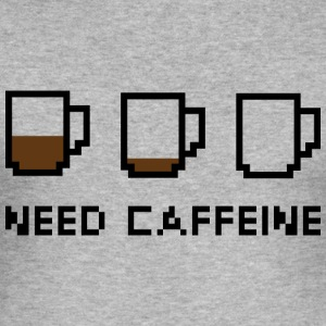 Need Caffeine - Men's Slim Fit T-Shirt