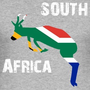 Nation design Soth Afrika Springbok - Herre Slim Fit T-Shirt
