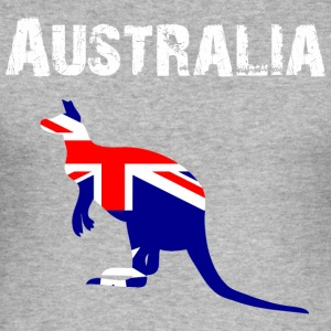 Nation-Design Australia 01 - Men's Slim Fit T-Shirt