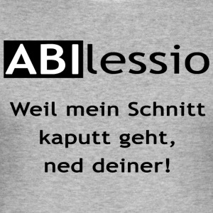 Abilessio - Männer Slim Fit T-Shirt